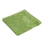 Bamboo Jacquard Lettuce Green Face Towel - 33 x 33 CM