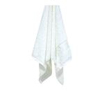 Bamboo Jacquard White Hand Towel - 50 X 100 CM