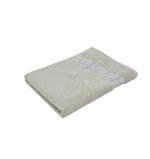Bamboo Jacquard Beige Hand Towel - 50 X 100 CM
