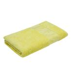Bamboo Jacquard Pastel Yellow Bath Towel - 70 X 140 CM