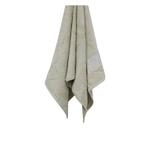 Bamboo Jacquard Beige Bath Towel - 70 X 140 CM