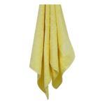 Bamboo Jacquard Pastel Yellow  Bath Sheet - 90 X 150 CM