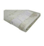 Bamboo Jacquard Beige Bath Sheet - 90 X 150 CM