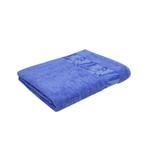 Bamboo Jacquard Corn Flower Blue Bath Sheet - 90 X 150 CM