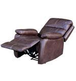 Julio Recliner Chair-Dark Brown
