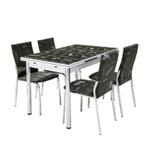 Istanbul 4 Seater Extendable Dining Set