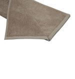 Urban Linen Brown Bath Mat - 50 x 80 Cm