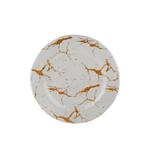 """Rustic Round Plate- 9"""""""