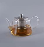 Heat Resistant Glass Teapot with Stainless Steel Handle 800ml
