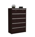 Kinsey Chest of Drawers-Oak Brown
