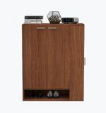 Sierra Shoe Cabinet-Walnut