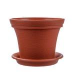 Blossom Flower Pot With Base, 24.5*20 cm