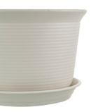 Blossom Flower Pot With Base, 30x21.5 cm