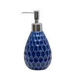 Ciara Royal Blue 4Pcs Ceramic Bathroom Set