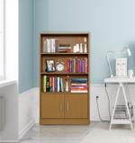 Gregor 3 Tier Kids Bookcase With 2 Doors