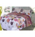 Dream home Platinum Single Bed Sheet 2Pcs Set - Ramones