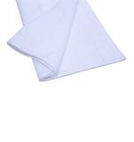 Double Border White Hand Towel- 50x100 cm