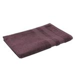 Double Border Dark Burgundy Hand Towel- 50x100 cm