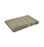Double Border Beige Bath Towel- 70x140 cm
