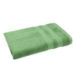 Double Border Turf Green Bath Sheet- 90x150 cm