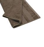 Double Border Coffee Bath Towel- 70x140 cm