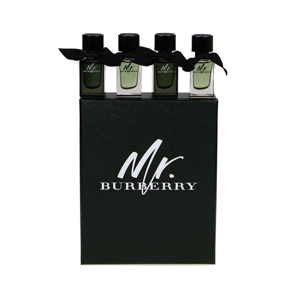 Burberry Mr Burberry Indigo EDT 5ml+ Mr Burberry EDP 5ml+ Mr Burberry EDT 2 X 5ml Mini Set
