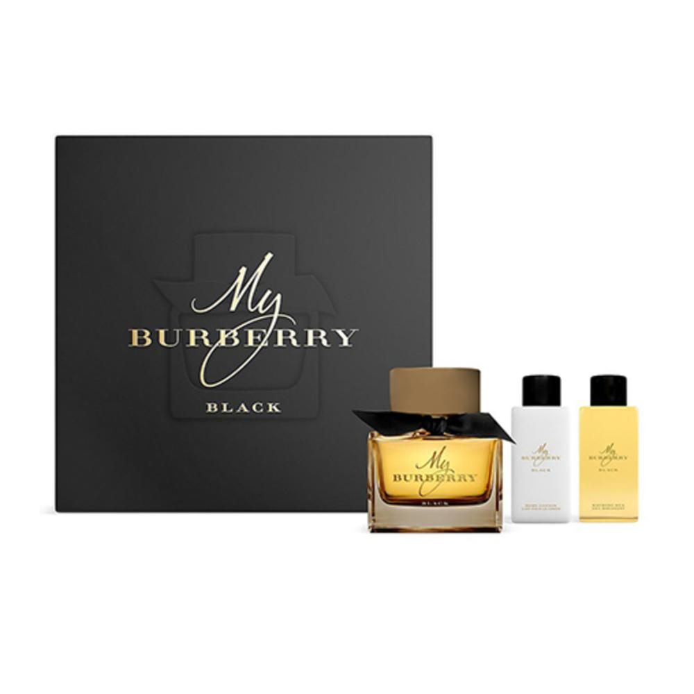 Burberry My Burberry Black EDP For Women 90ml 3pcs Set
