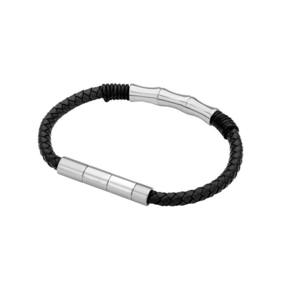 Cerruti 1881 Leather Wristband For Men C Crj B112Snbk