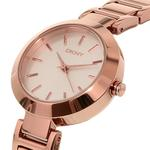 DKNY White And Rose Stanhope Watch NY2400