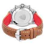 Ducati Beige Dial Genuine Leather Chronograph Watch DTWGF2019205