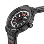 Ducati Black Dial Genuine Leather Analog Watch DTWGB2019401