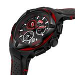 Ducati Black Dial Genuine Leather Watch DTWGC2019004