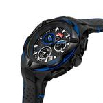 Ducati Black Dial Genuine Leather Watch DTWGC2019005