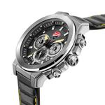 Ducati Black Dial Genuine Leather Watch DTWGF2019204