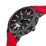 Ducati Black Dial Silicon Analogue Watch DTWGN2019503