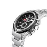 Ducati Black Dial Stainless Steel Watch DTWGI2019105