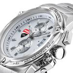 Ducati White Dial Stainless Steel Chronograph Watch DTWGI2019106