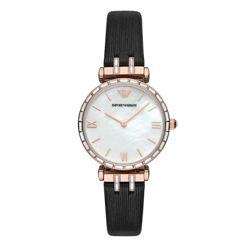 Emporio Armani Analog Mother of Pearl Dial Women's Watch-AR11295