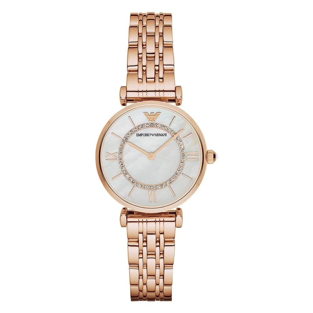 Emporio Armani Rose Gold Bracelet Watch AR1909
