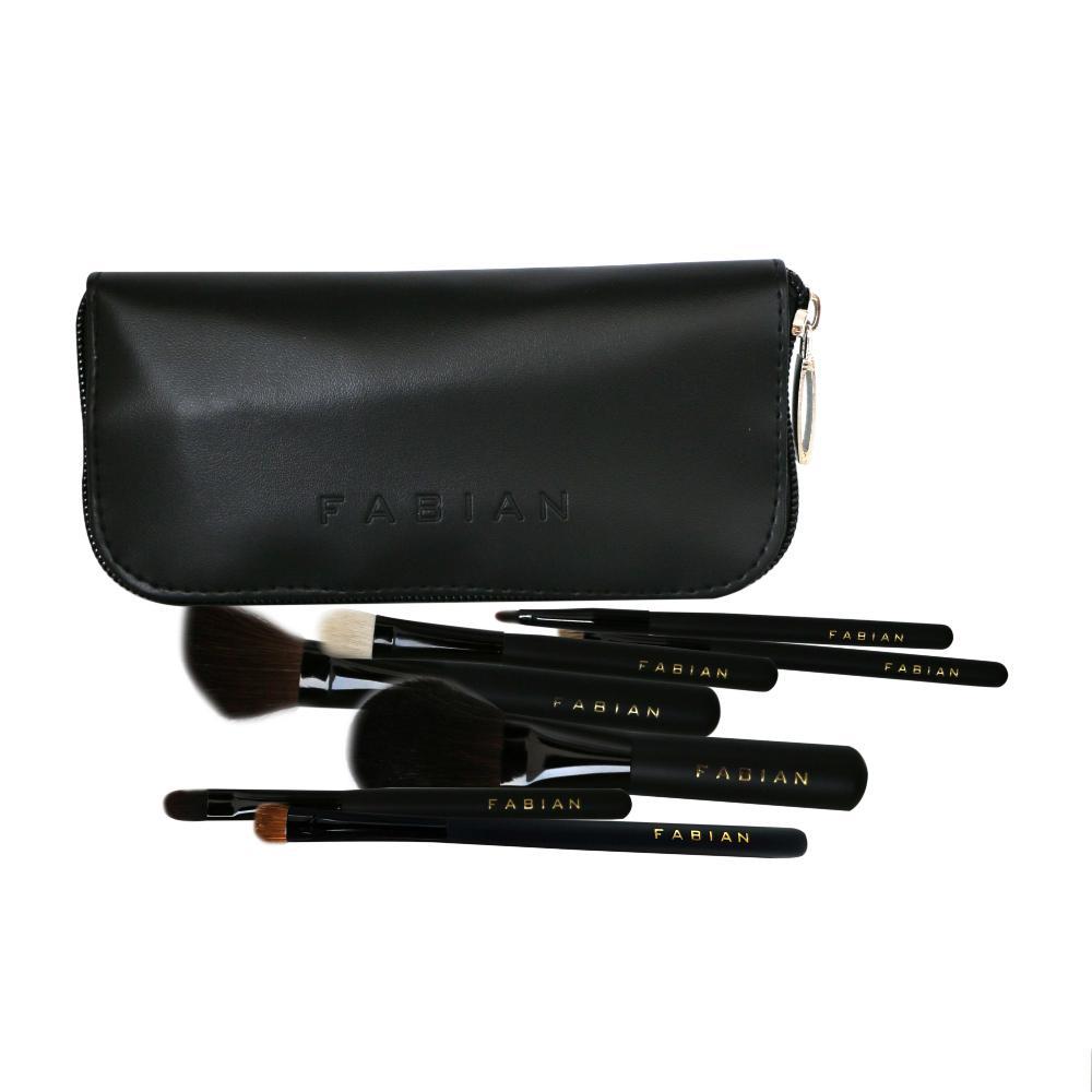 Fabian 7 Pcs Brush Set with Bag