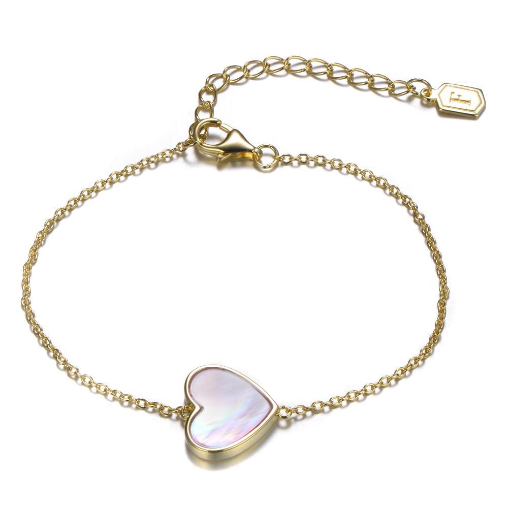 Fabian Hearts Pattern Women Bracelet - FLJ-YL782-BR