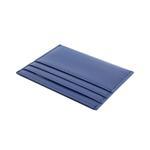 Fabian Leather Blue/Brown Card Holder For Men - FMWC-SLG16-BLNBR