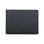 Fabian Leather Wallet Black - FMW-SLG29-B