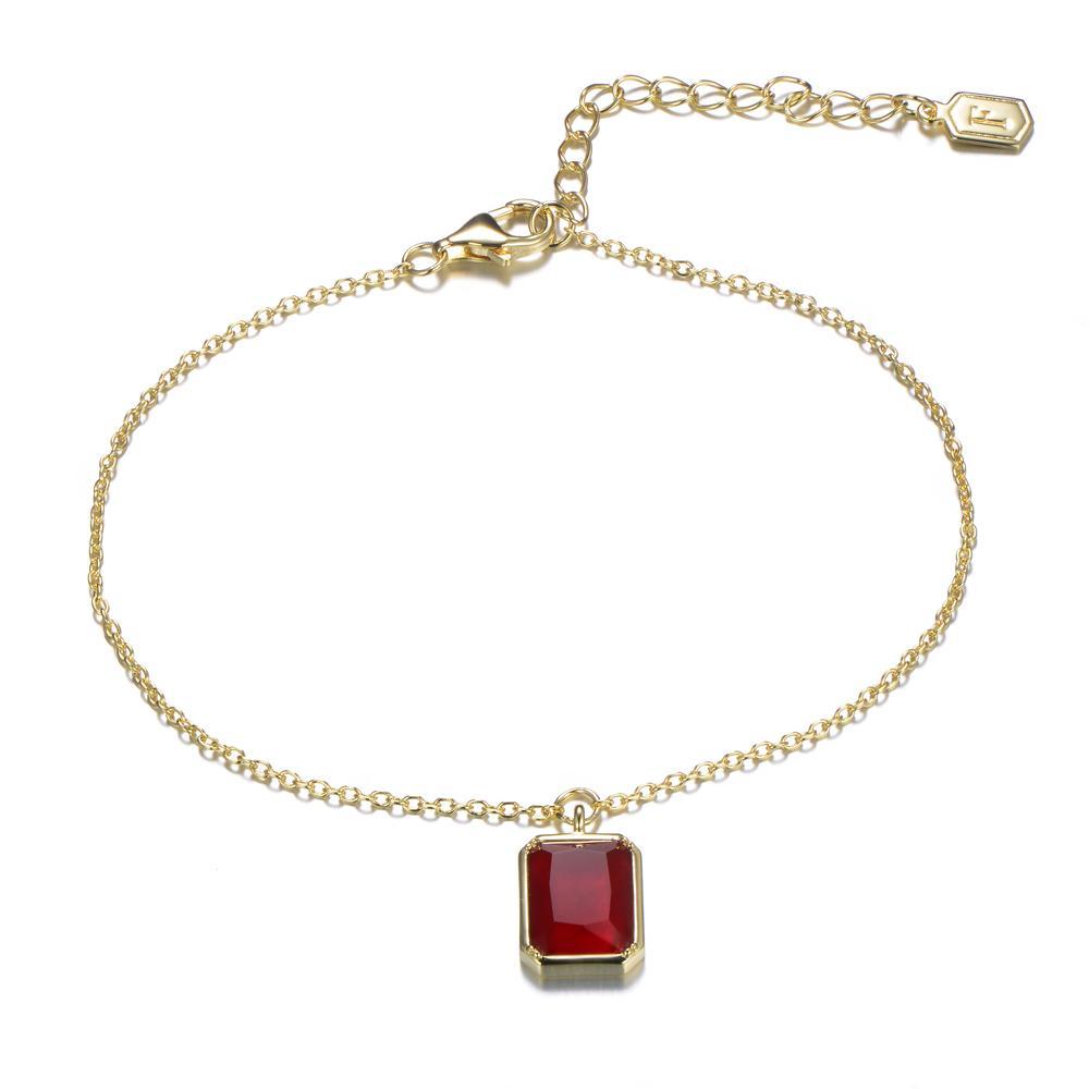 Fabian Square Shape Women Bracelet - FLJ-YL775-BR