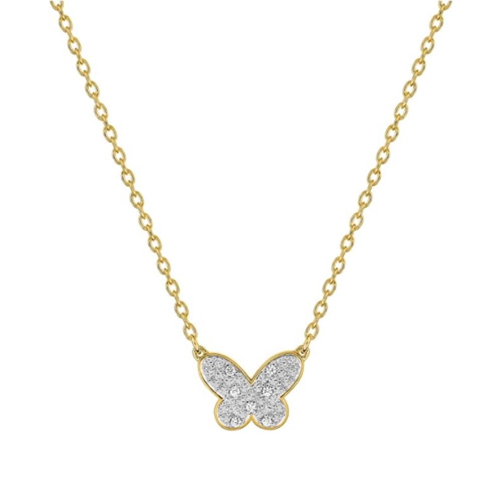 Fontenay Paris Gold Plated Necklace With Zirconia-DSC335Z40E