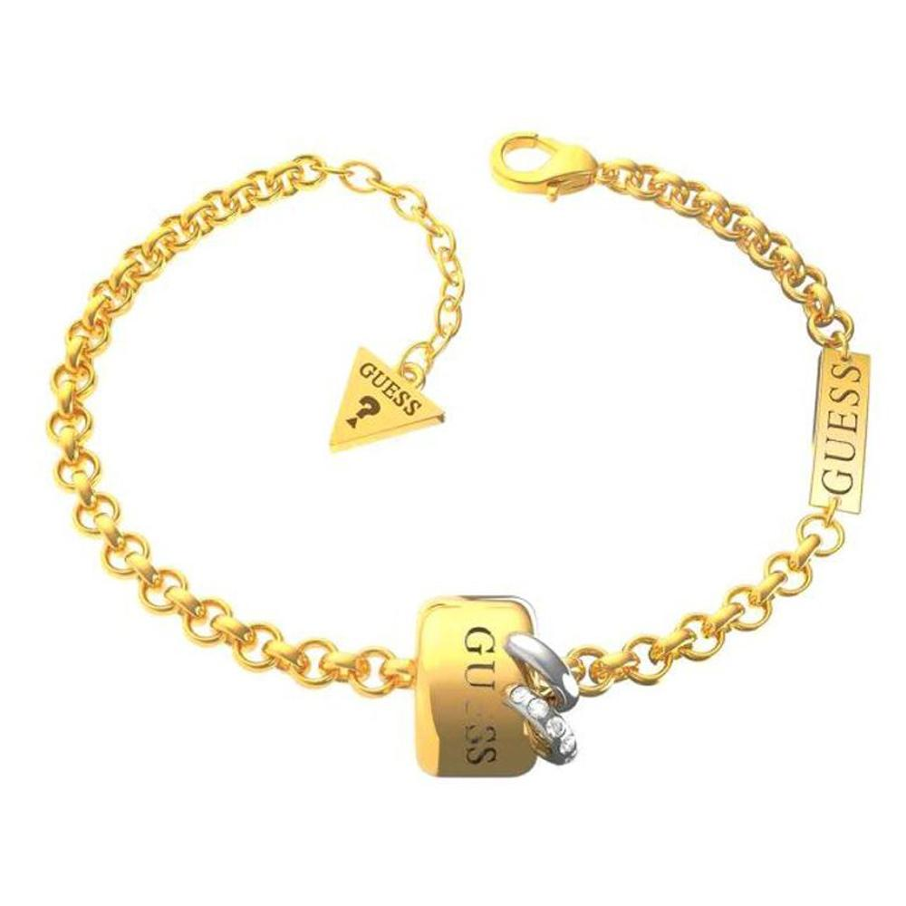 Guess Chain Ring Piercing Bracelet Ubb79007-S