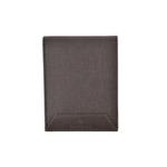 Jean Bellecour Bifold Long Grain Leather Wallet Dark Brown 81026-DB