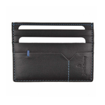 Jean Bellecour Leather Card Holder Black 81021