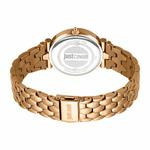 Just Cavalli Animal Rose Gold Steel Watch With Zircon JC1L105M0095
