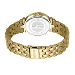 Just Cavalli Animalier Yellow Gold Dial Stainless Steel Analog Watch For Women JC1L105M0075
